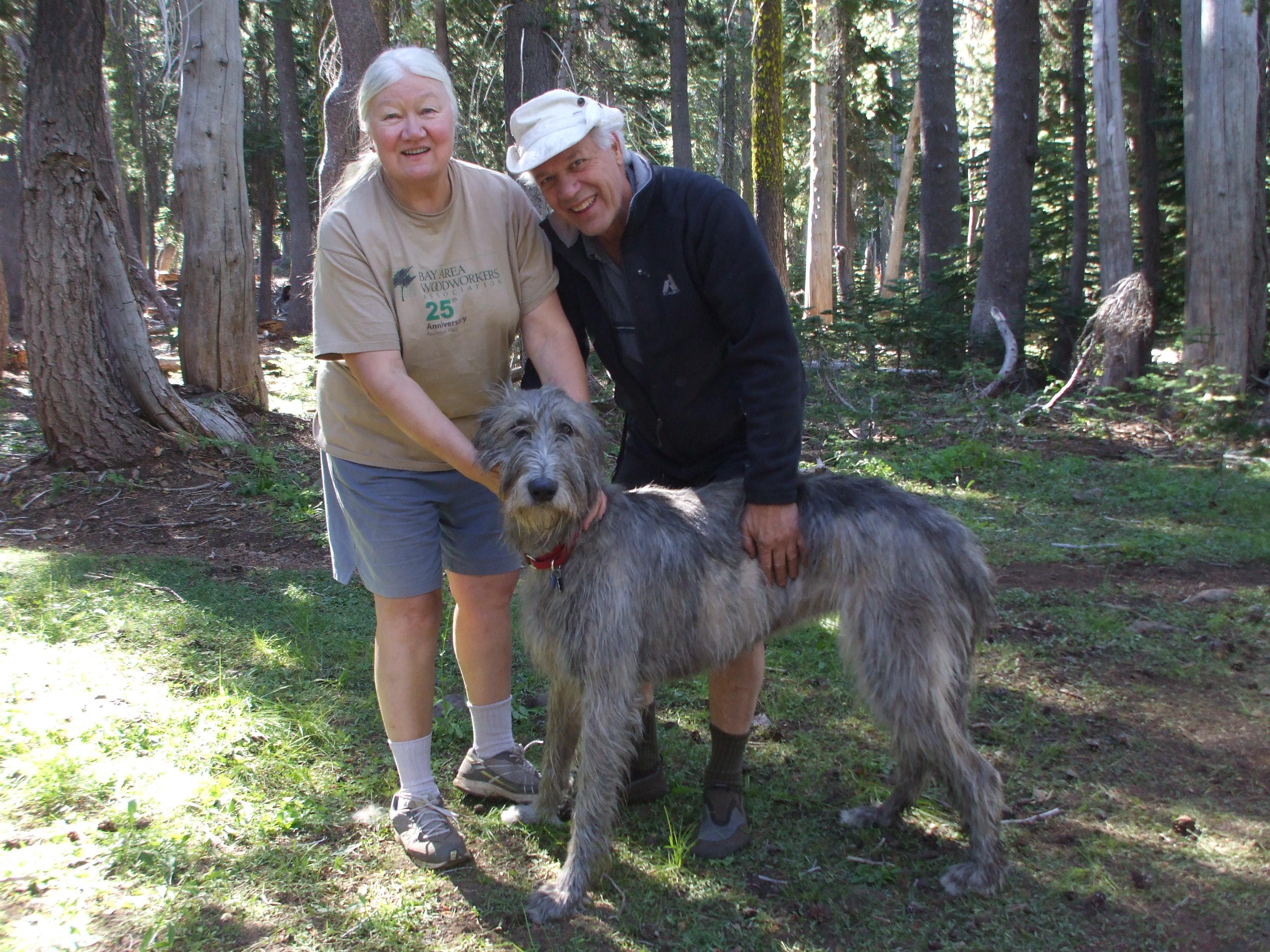 Janet, Don, and Sarina at Green Island Lake